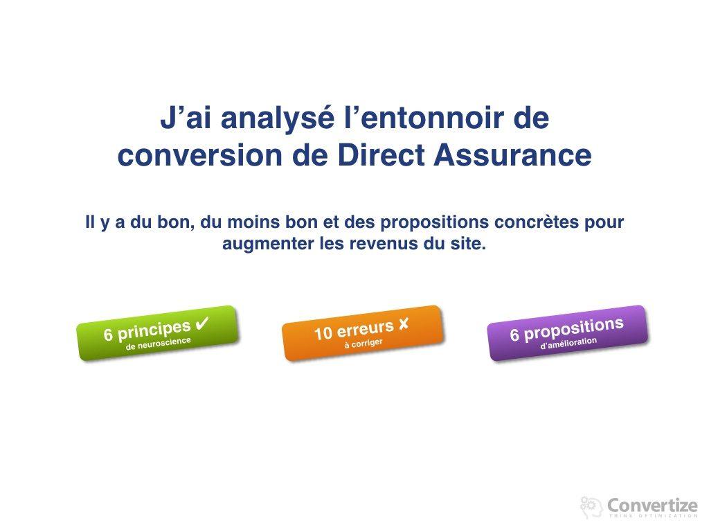6 principes de Neuromarketing utilisés par Direct Assurance pour optimiser ses taux de conversions