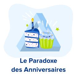 paradoxe des anniversaires