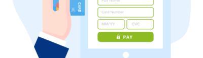page de paiement