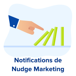 notifications de nudge marketing