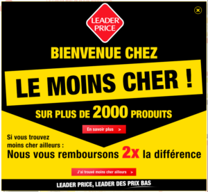 Leader Price - Proposition de valeur