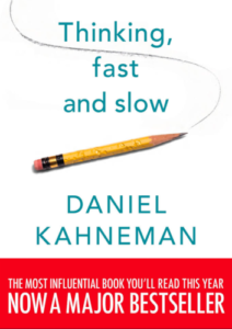 Livres de Neuromarketing - Thinking fast and slow