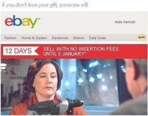 Exemple Newsletter ebay 2