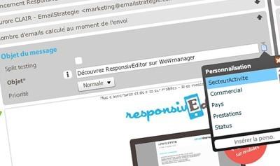 personnalisation newsletter