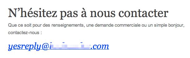 Sondage Email Newsletter