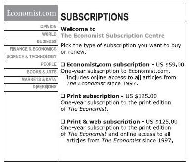 offre the economist utilisant l'optimisation des prix