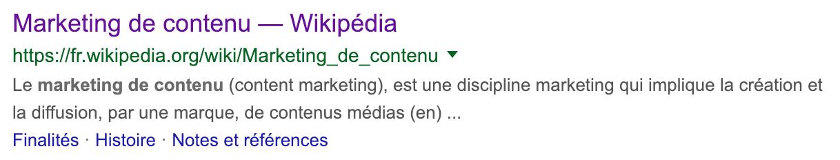 wikipédia et la stratégie seo de marque