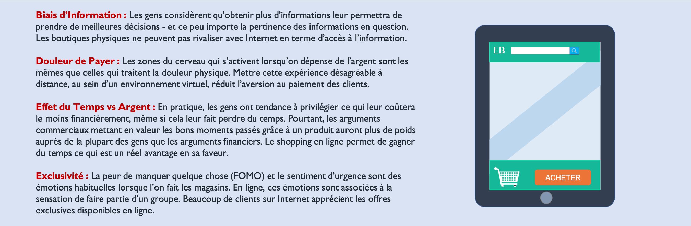 avantage du e-commerce