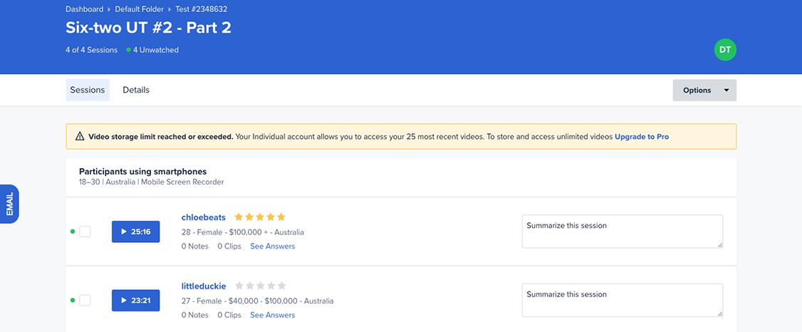 usertesting - outil d'analyse du comportement utilisateur