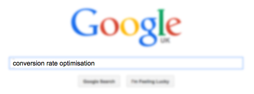 search Conversion Rate Optimisation