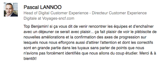 Pascal Lannoo - Head of Digital Customer Experience at Voyages-sncf.com