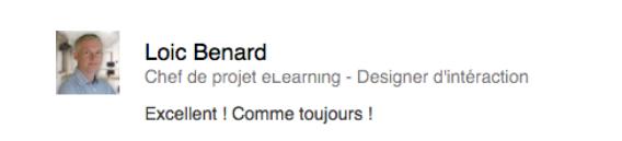 Loic Benard - Chef de projet eLearning à exmcompany