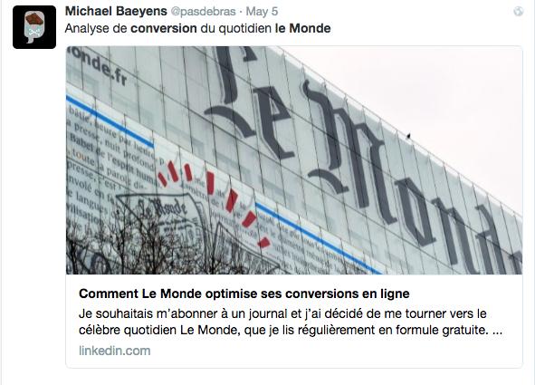 Michael Baeyens - Lead UX à France Télévisions