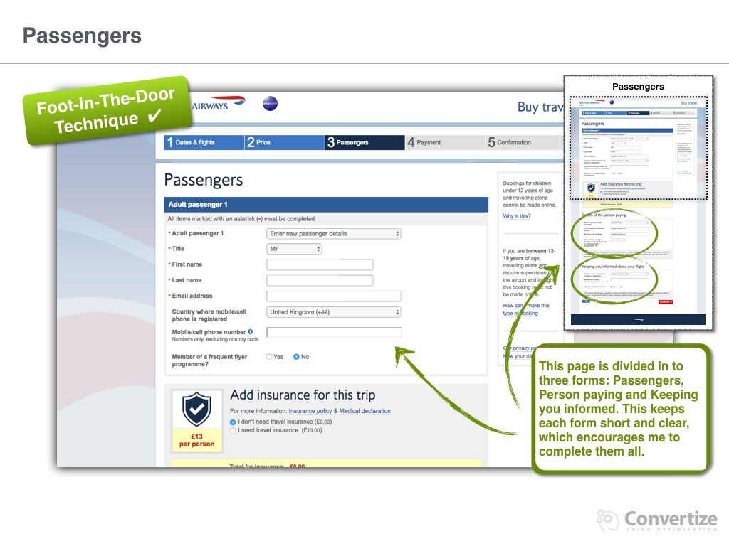 8 Neuromarketing Principles Used by British Airways to optimise their Conversions Rates