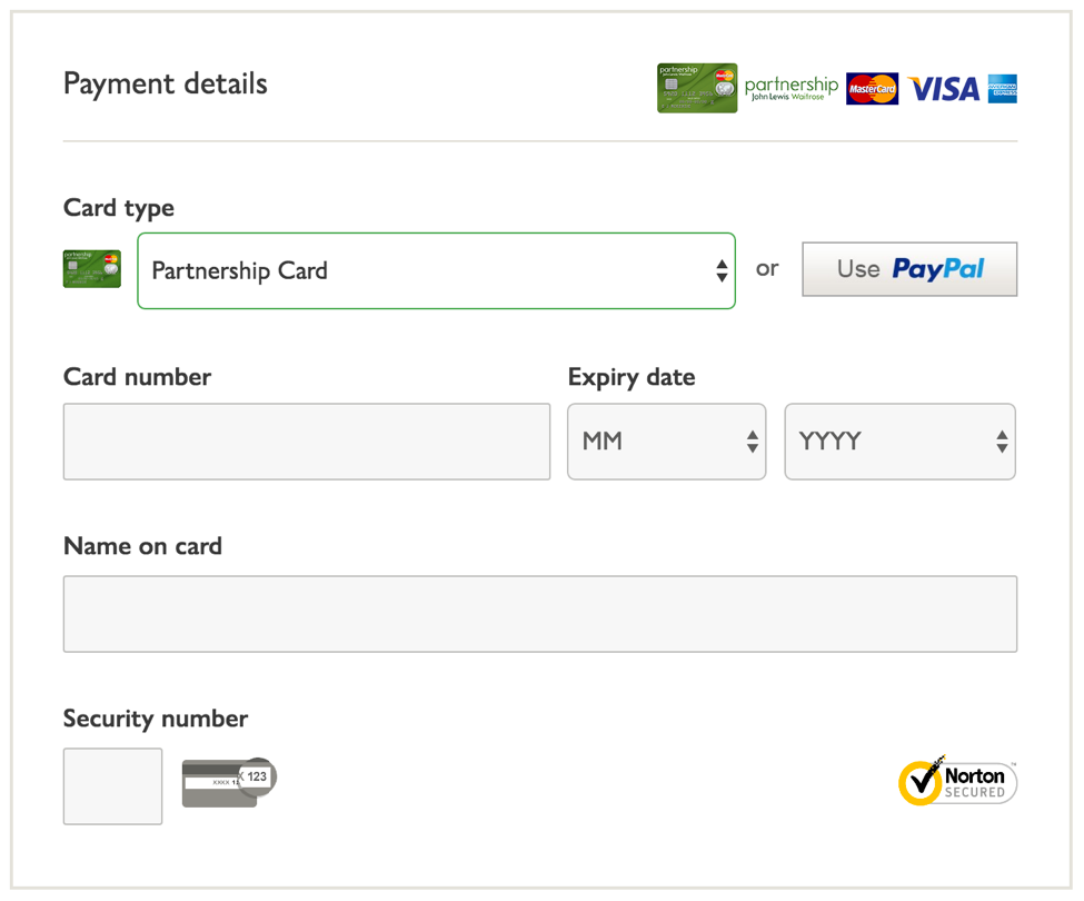John Lewis - the £1 billion online checkout