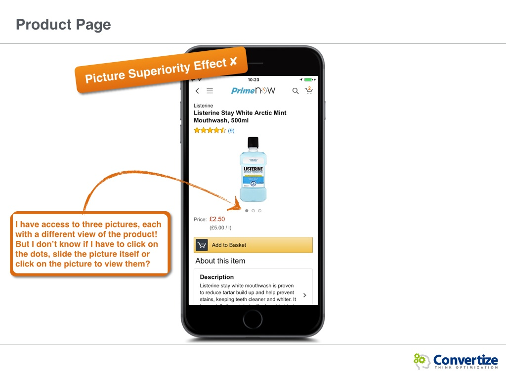 How Does Prime NOW Optimise Its Conversions