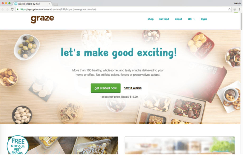 How could Graze increase engagement ?