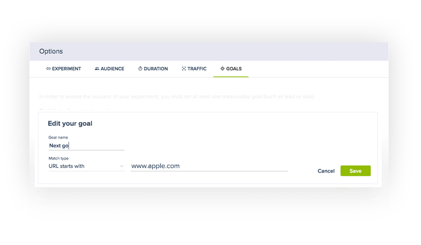 Managing A/B Testing Goals has just become easier with Convertize.io