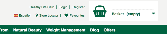 Holland and Barrett increase online sales
