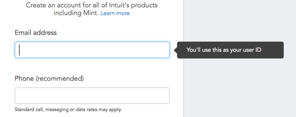 Intuit Accounts   Sign Up