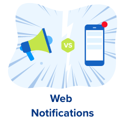 push notifications and persuasive web messages