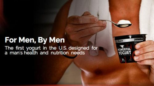 Social Proof and Yogurt for Men