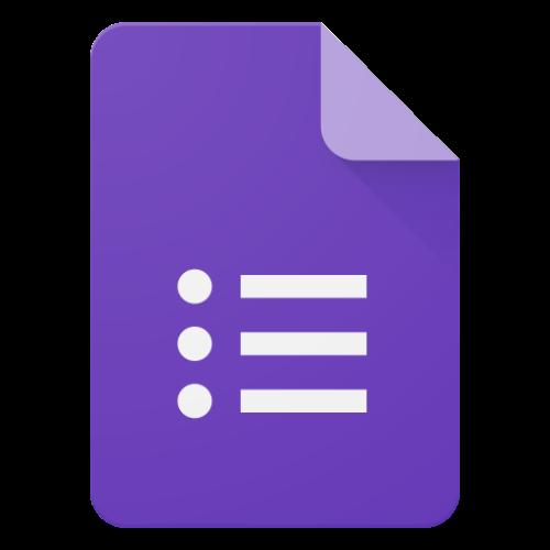 google forms survey tool