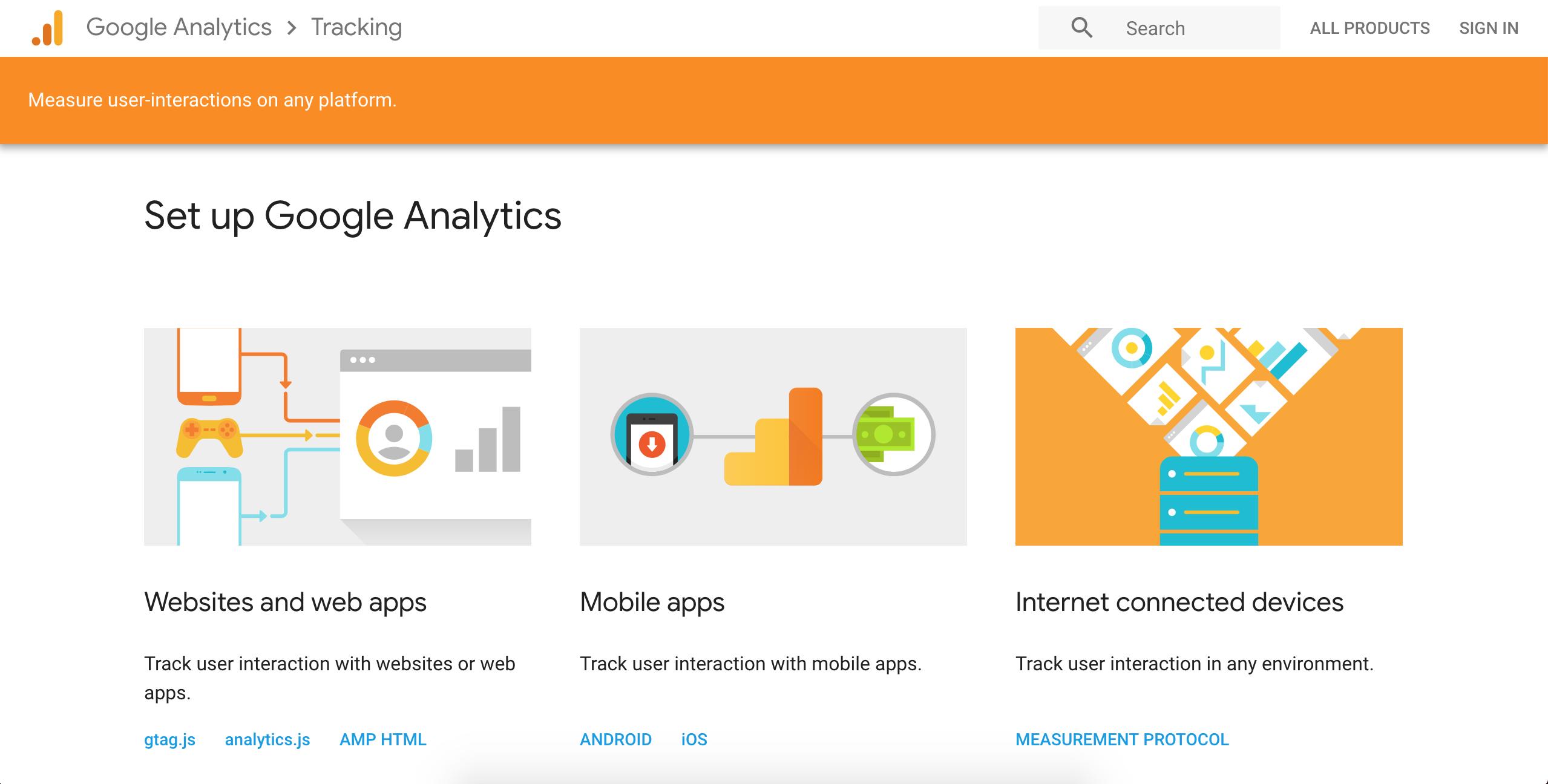 google cro analytics tool screenshot