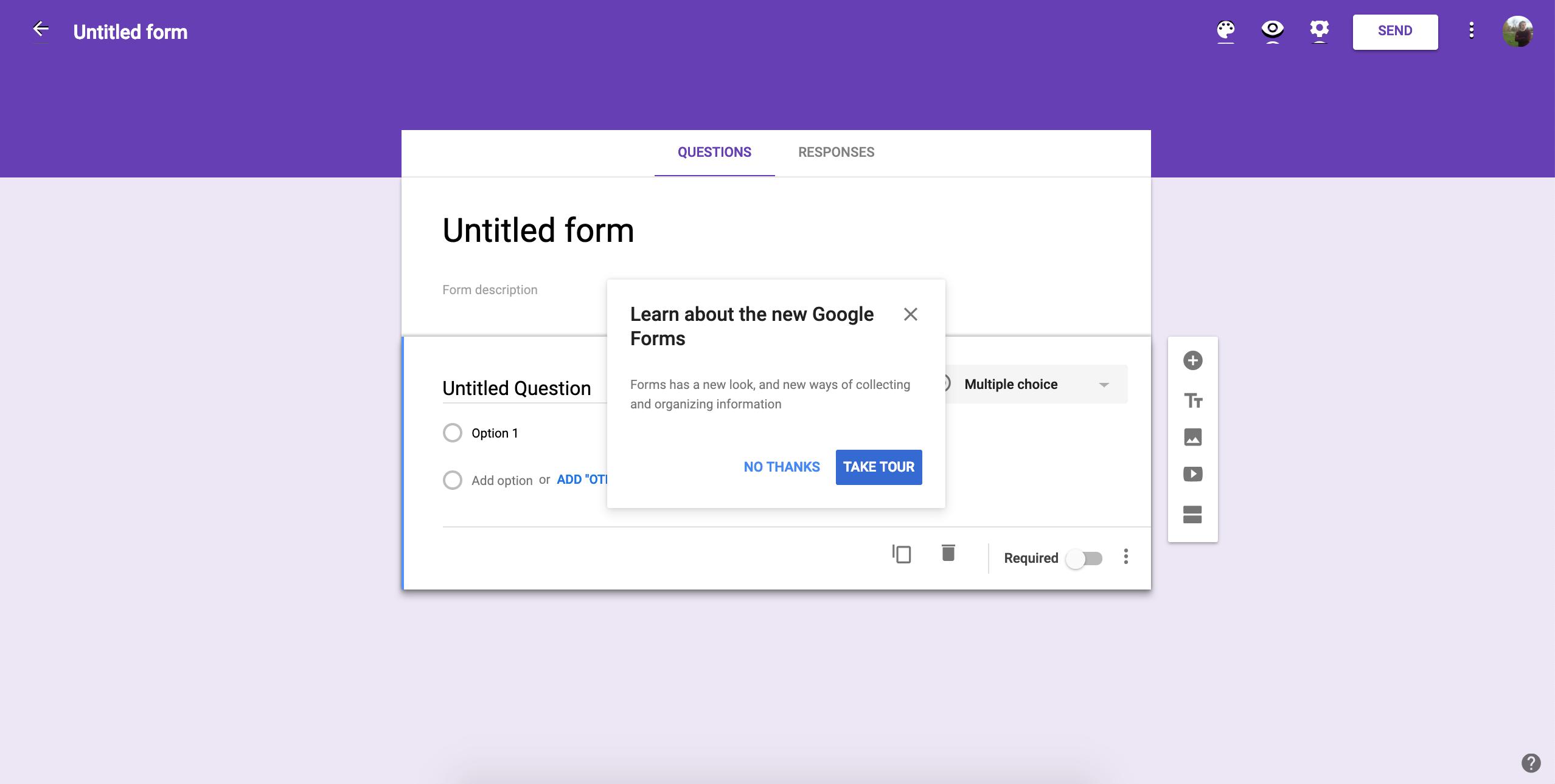 cro tools google forms