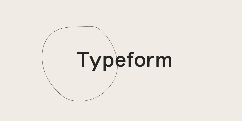 typeform user testing tool