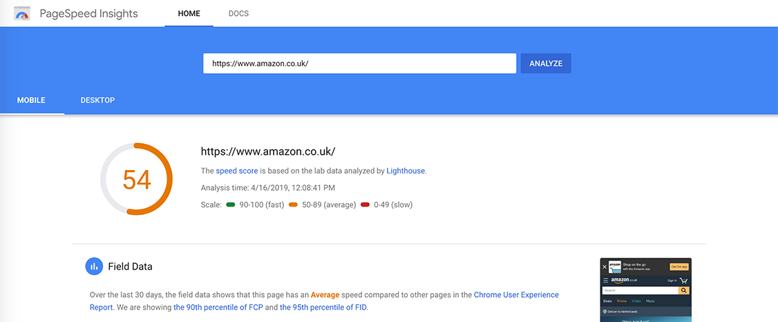 Google PageSpeed CRO Tools