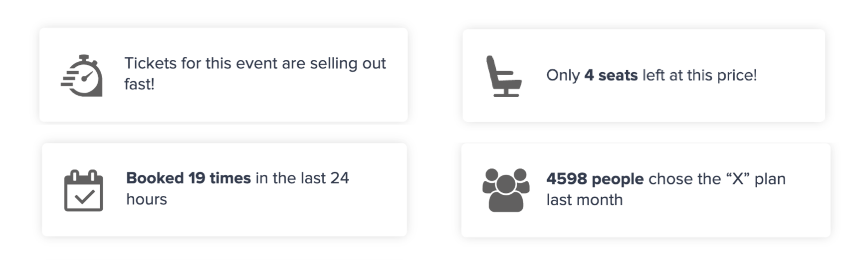 nudge notifications for ecommerce stores
