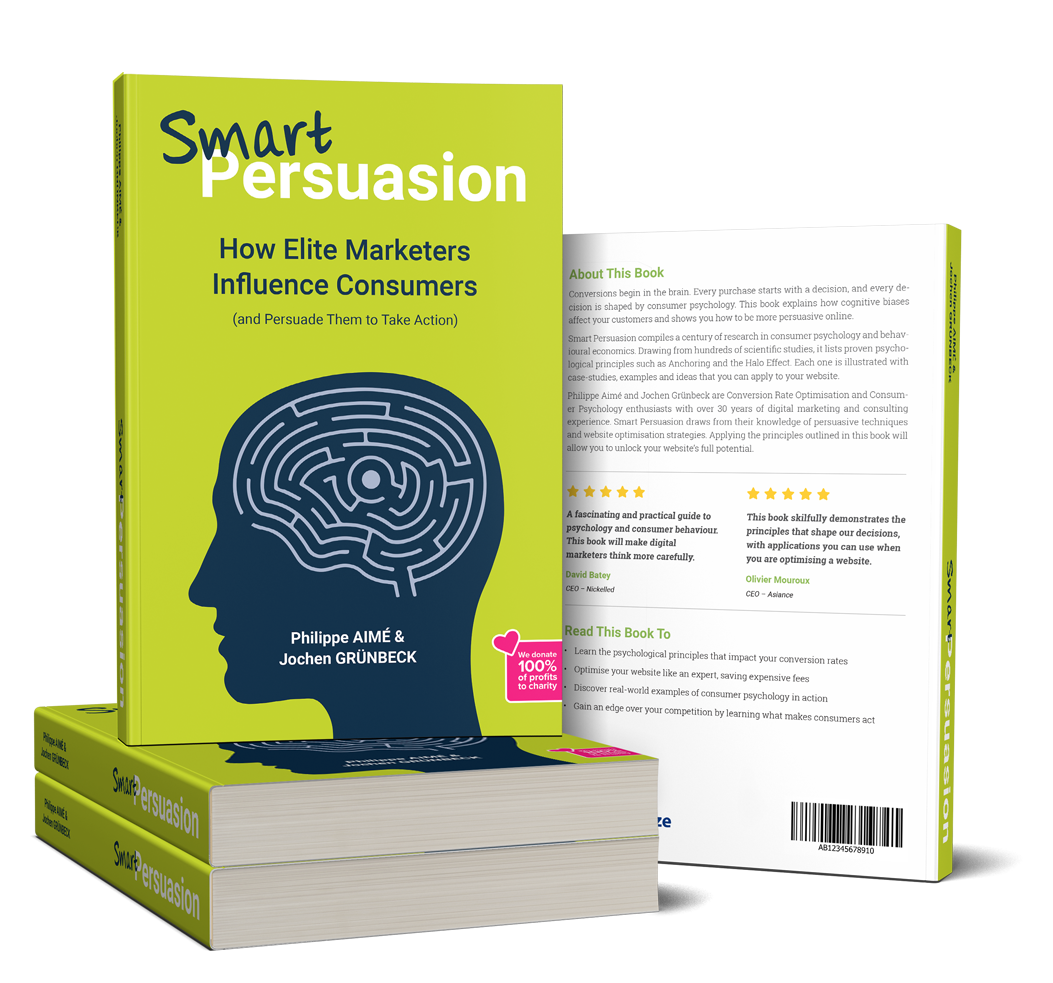 Smart Persuasion - CRO and Neuromarketing Book